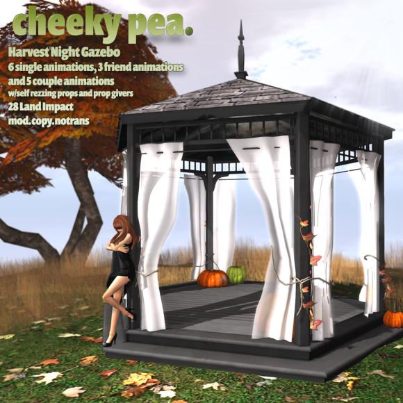 Cheeky Pea - Harvest Night Gazebo - (The Costume Ball)