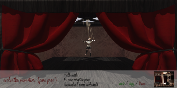 .evolve.the puppeteer. {pose prop} - (The Costume Ball)