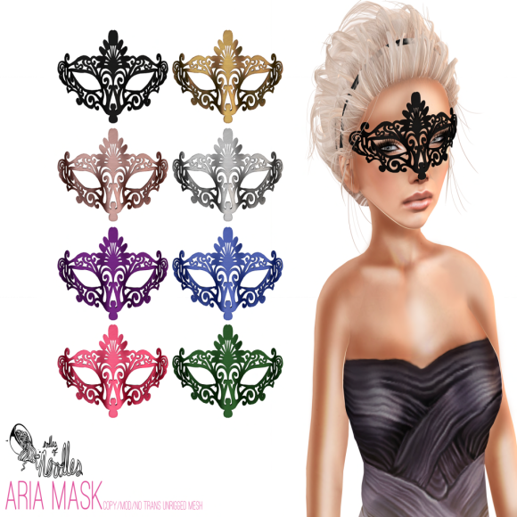 Noodles - Aria Mask - (The Costume Ball)