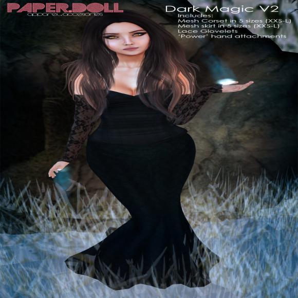 Paper.Doll - Dark Magic V2 - (The Costume Ball)