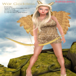 Paper.Doll - War Goddess - (The Costume Ball)