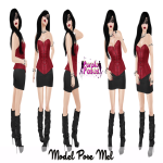 PURPLE POSES - MEL - (The Costume Ball)