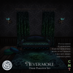 Senzafine - Nevermore - Dark Parlour Set (The Costume Ball)