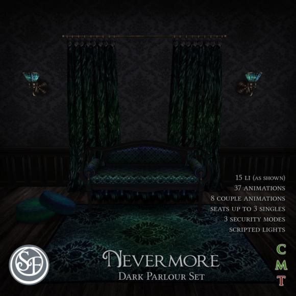 Senzafine - Nevermore - Dark Parlour Set (The Costume Ball)