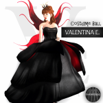 V.e. - Fairy Gown & Wings  Evil - (The Costume Ball)