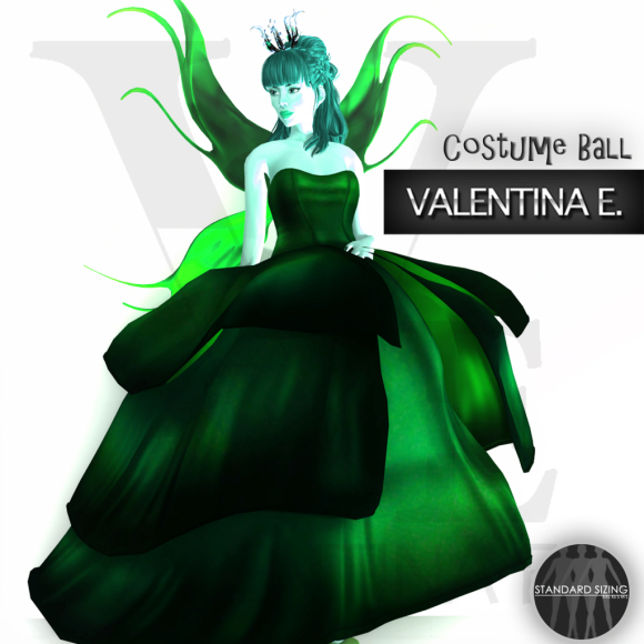 V.e. - Fairy Gown & Wings  Princess & The Pea (The Costume Ball)