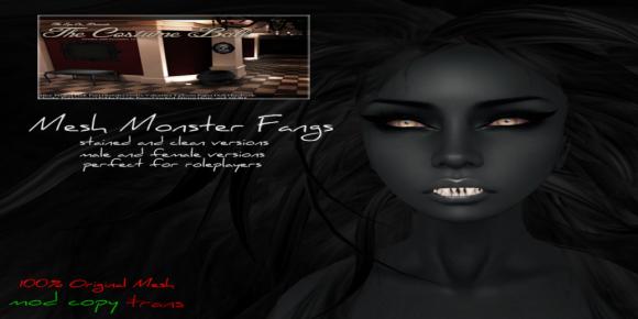 #Ziau# - Monster Fangs - (The Costume Ball)