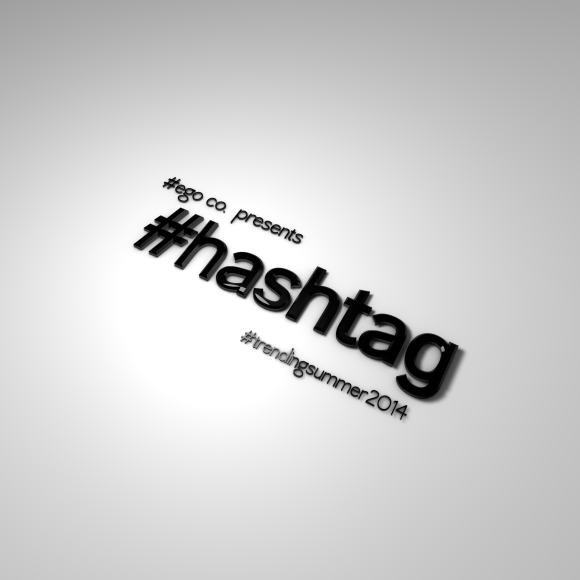 HASHTAG EGO CO LOGO RENDER